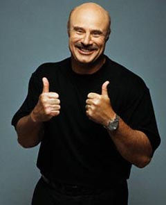 Dr. Phil McGraw Giving Thumbs Up